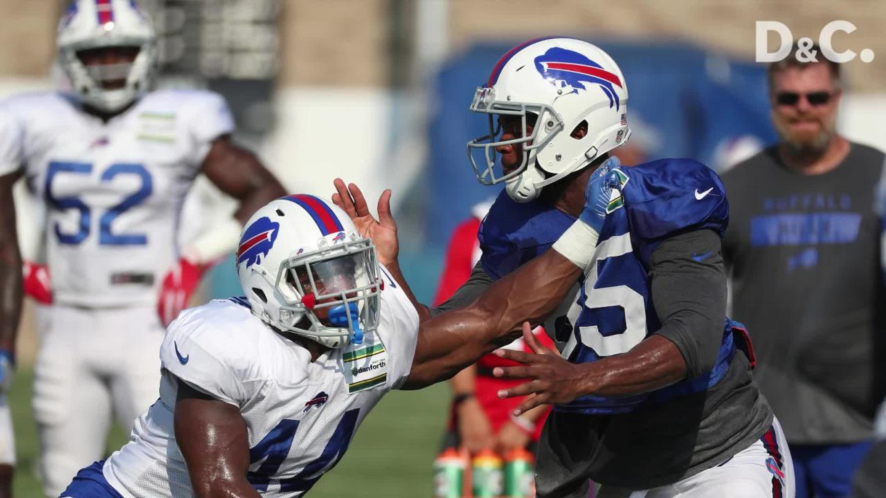 Tight end Charles Clay was released Friday by the Buffalo Bills.
