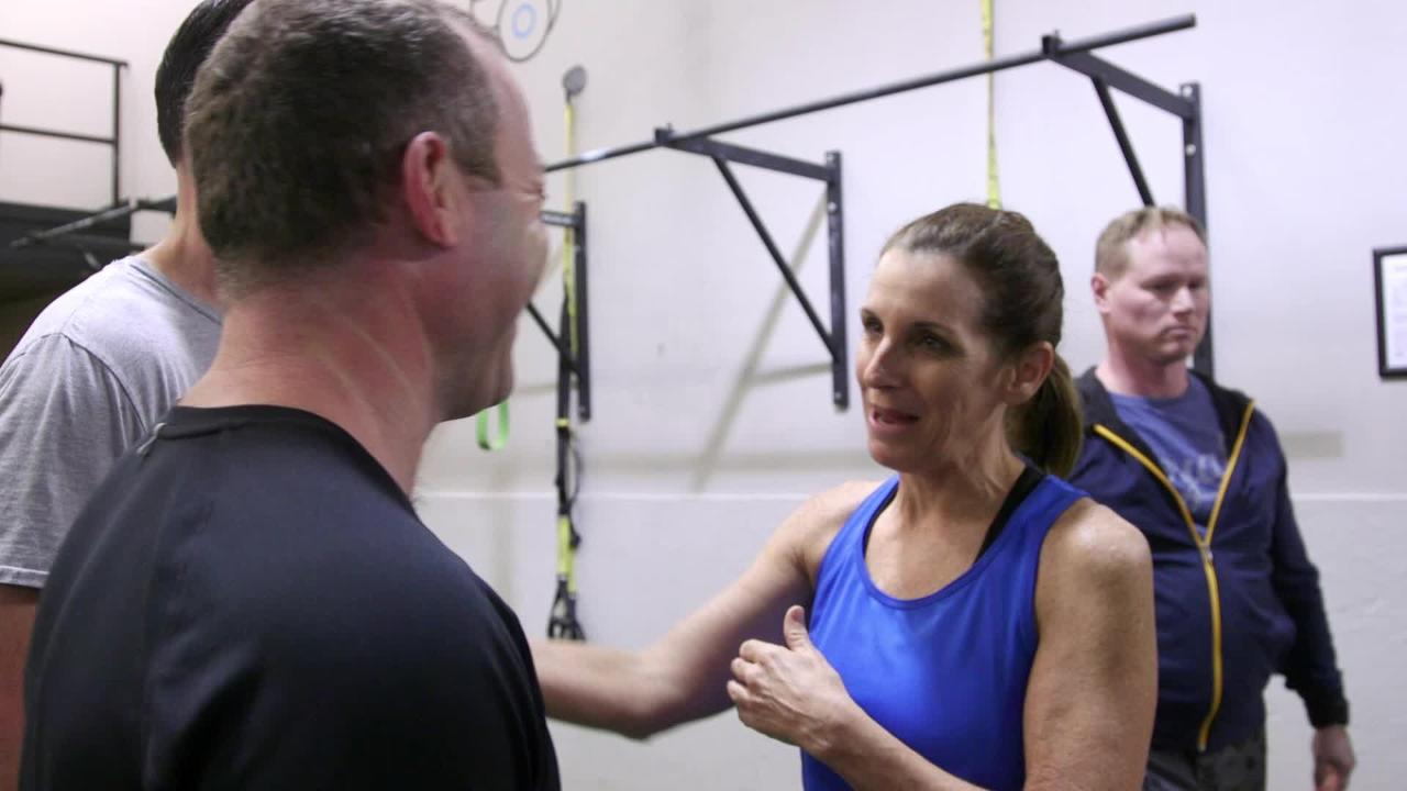 Nearly every morning Senator Martha McSally, R-Ariz., exercises with a bipartisan group of lawmakers in Washington D.C.