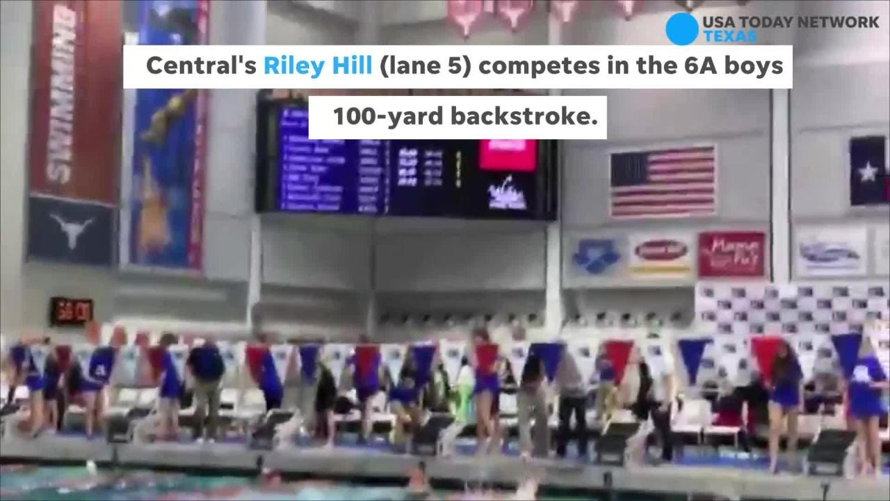 Highlights from Friday at the Class 6A UIL State Swimming & Diving Meet.