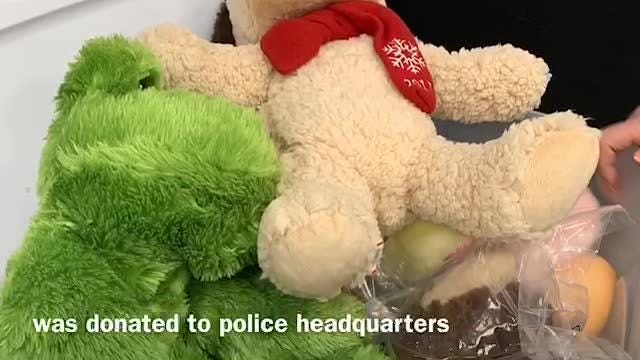 Gloucester Township Police have added stuffed creatures to the list of tools used on patrols. They share the toys with kids facing trauma.