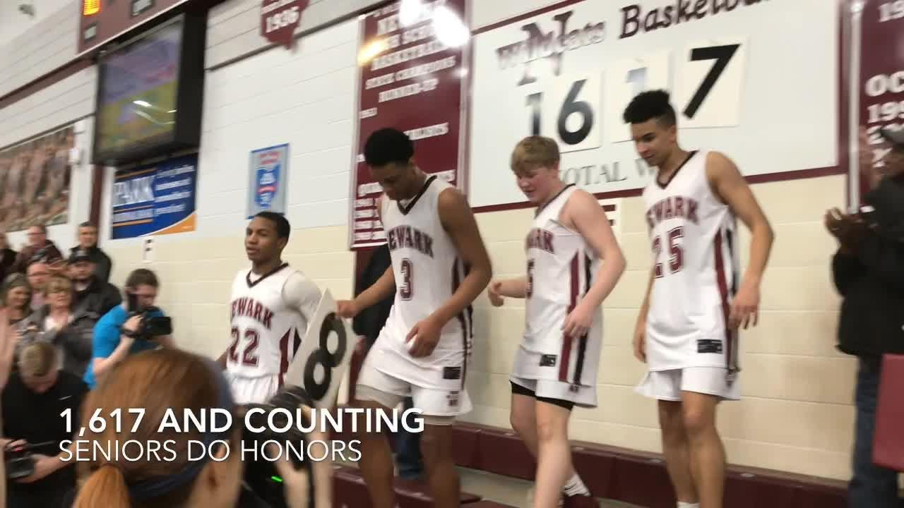 Host Newark boys avenged an earlier loss to Canal Winchester with a 42-33 win for their third straight OCC-Capital title.