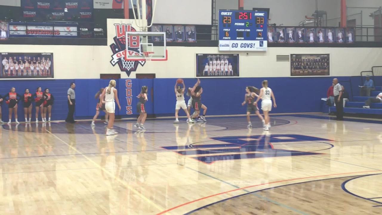 Girls basketball highlights from game between Farragut and Lenoir City in the District 4-AAA tournament. Farragut won 74-55.