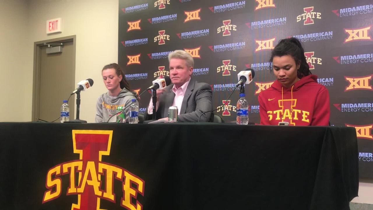 Bill Fennelly says Saturday's game was an important victory for Iowa State.