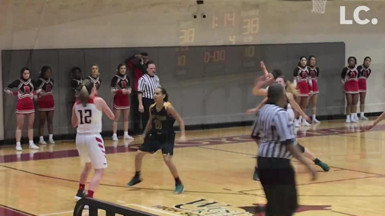 Rossview hung on to advance to the District 10-AAA girls title game, despite Northwest's solid play from start to finish.