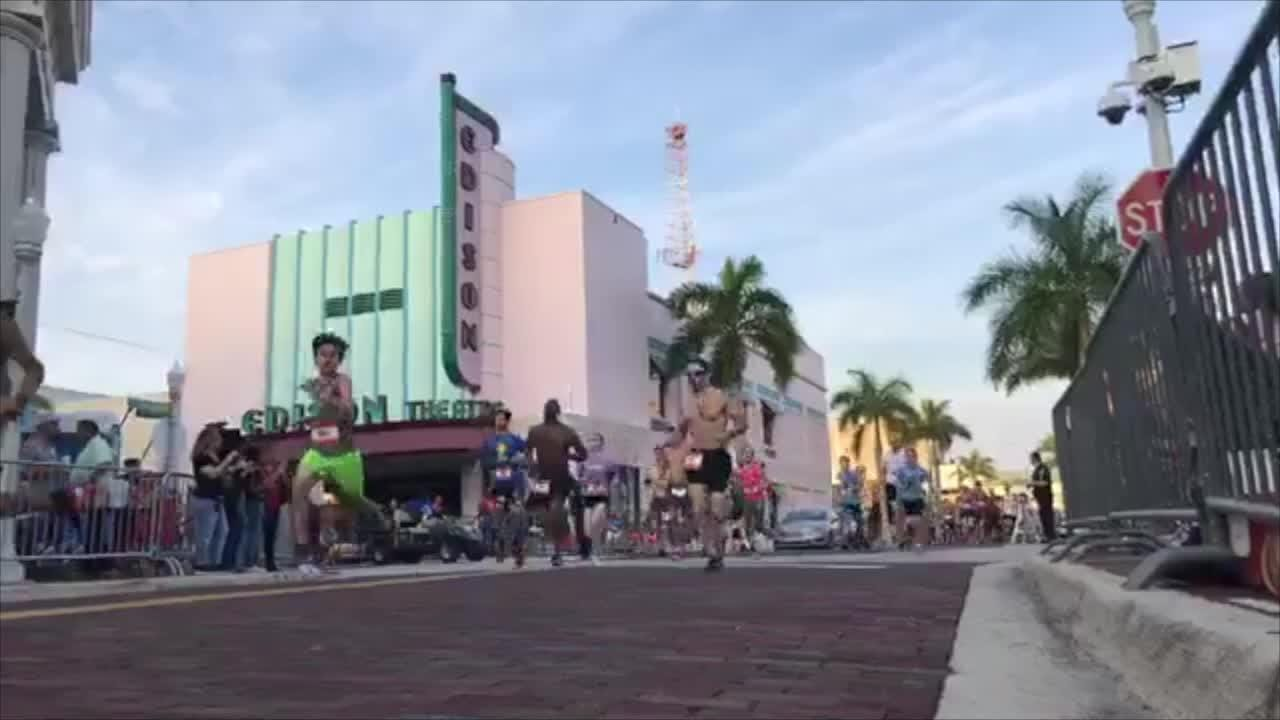 Nearly 700 runners participated in the Edison 5K run prior to the start of the parade on Saturday, Feb. 16, 2019.