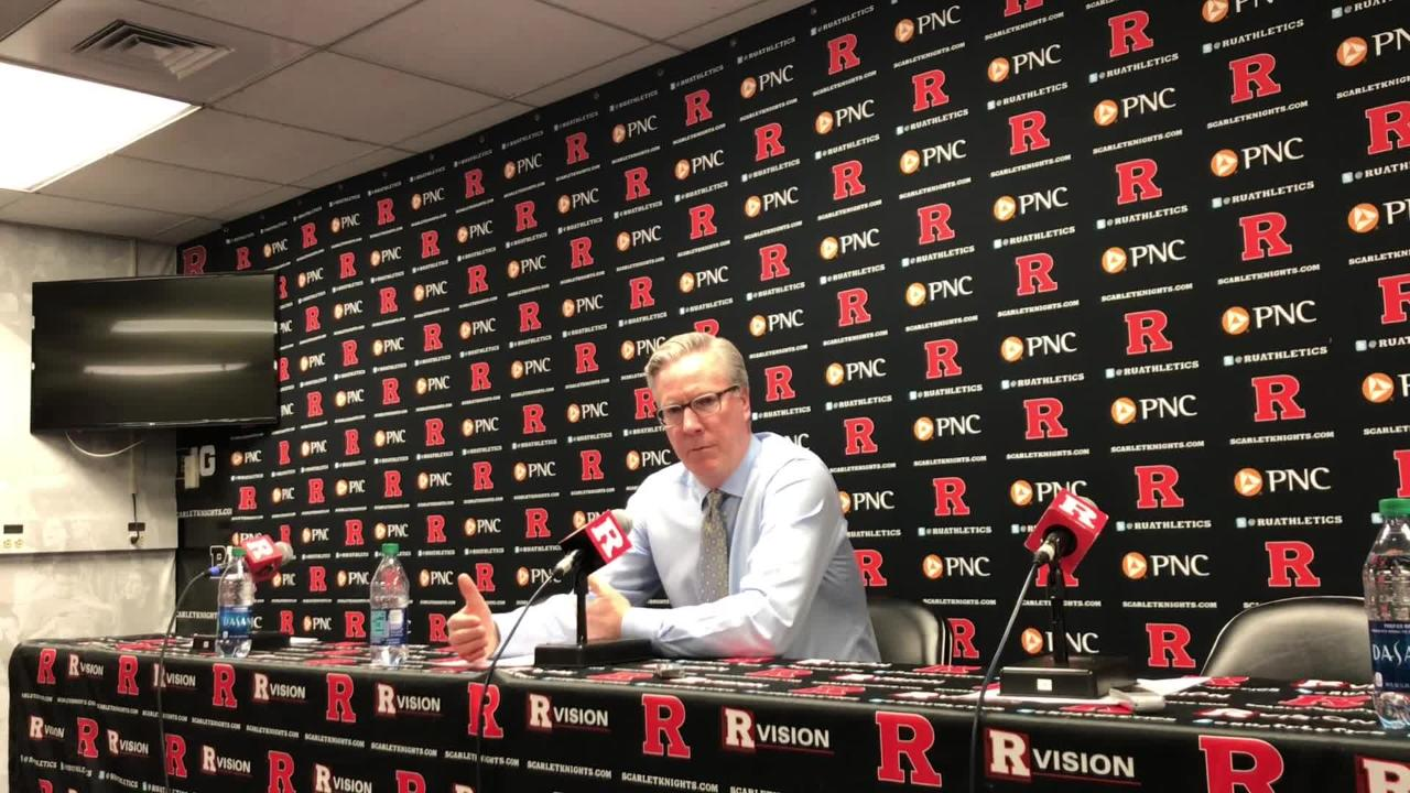 Iowa coach Fran McCaffery details what had to happen for last-second shot to work against Rutgers. He even tells you what the play is called. Listen: