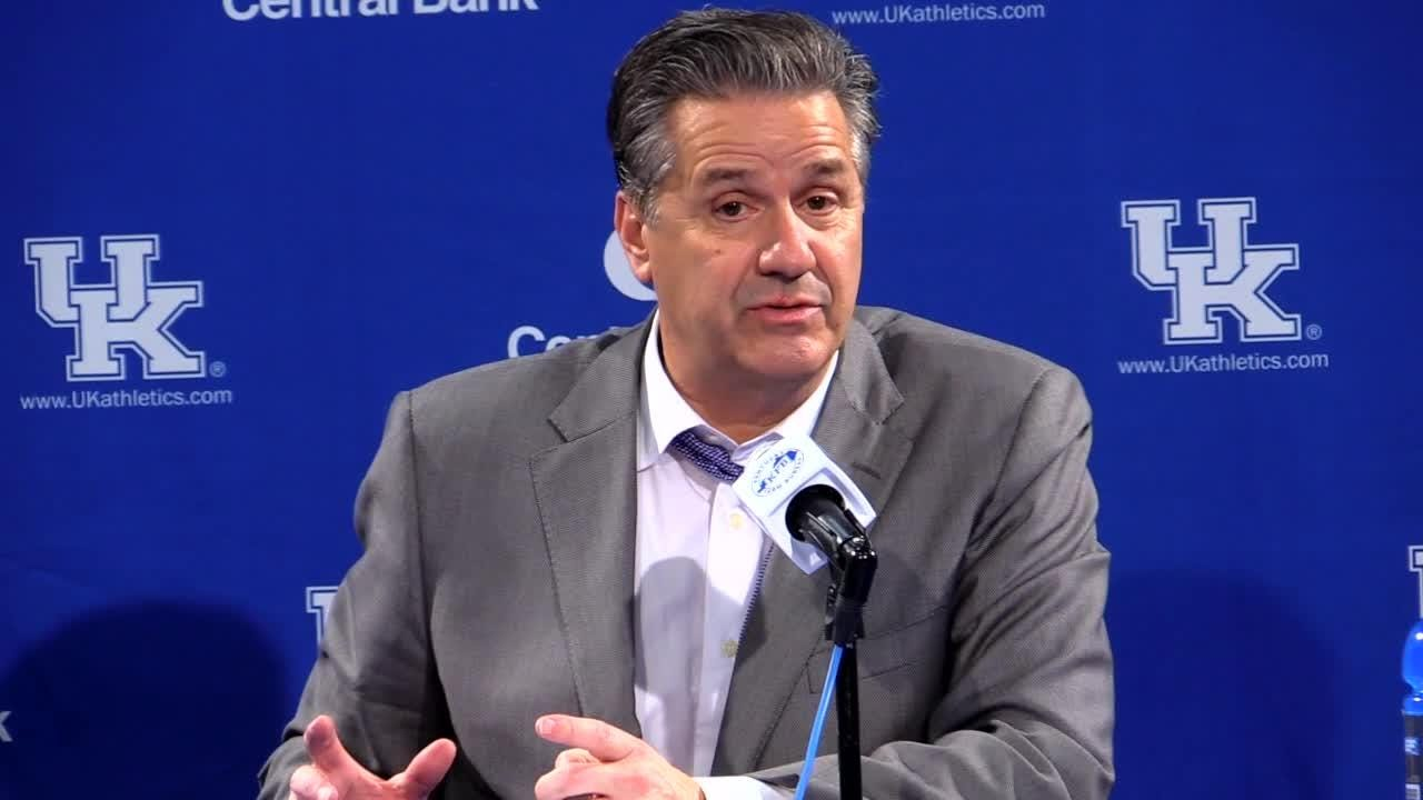 John Calipari tells Kentucky fans to stop 'overrated' chant against Tennessee