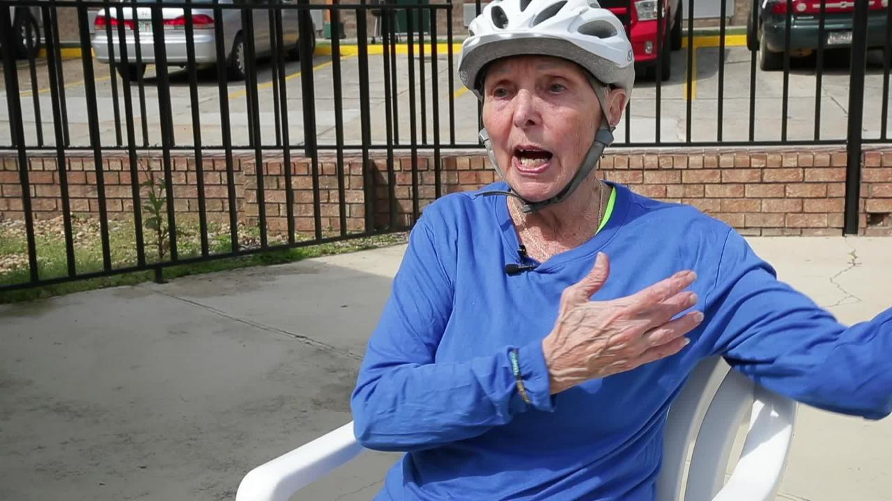 Carol Garsee, 77, is embarking on a cross-country bicycling trip with a dozen other seniors from Florida to California.