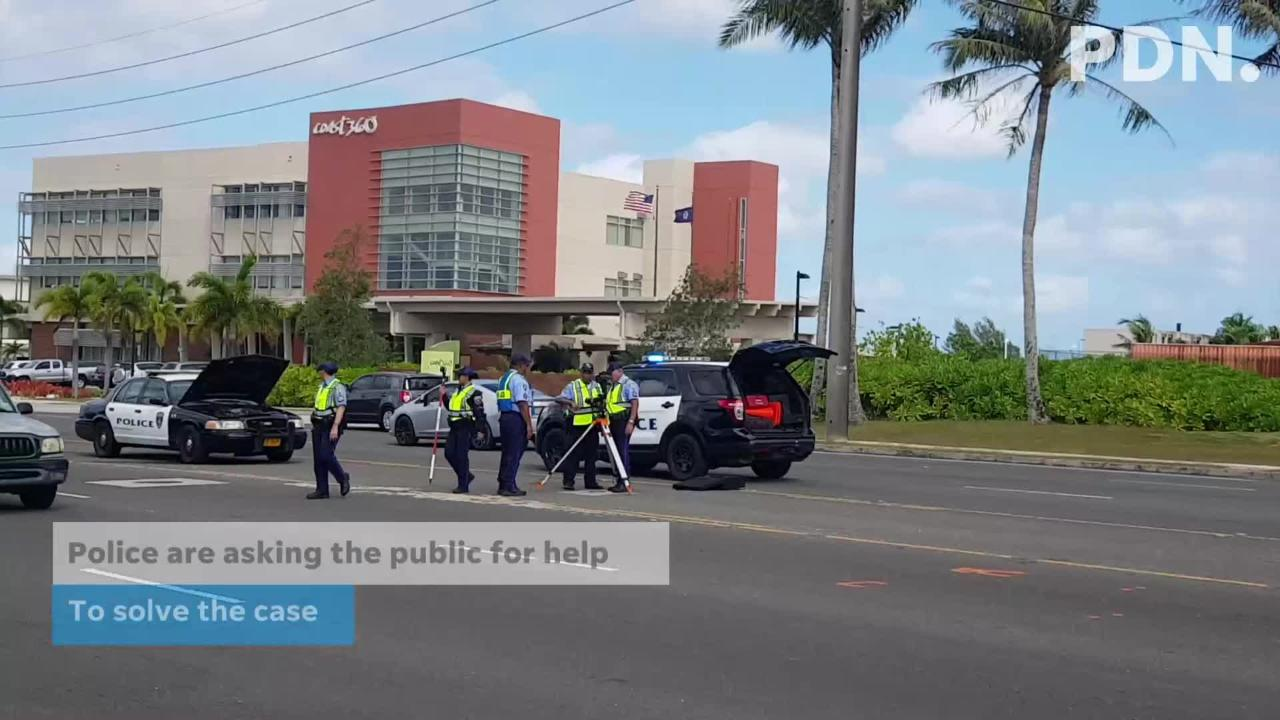 The Guam Police Department continued investigating a fatal hit-and-run in Maine on Feb. 18, 2019.