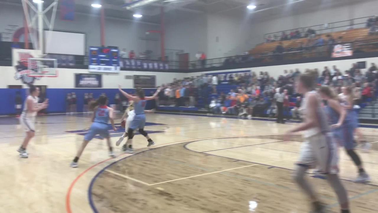 Watch William Blount beat Heritage, 51-49, in the District 4-AAA girls basketball tournament.