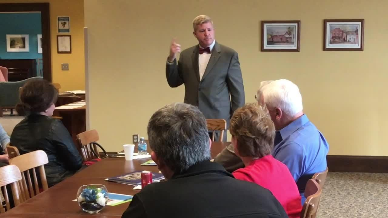 John Berry, new President of Central Ohio Technical College, speaks on the Coshocton Campus finding its niche unique to COTC.