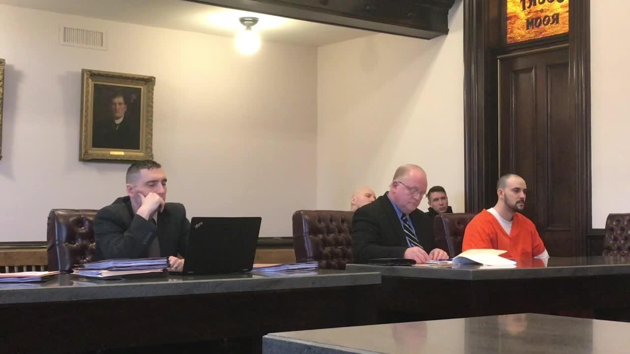 Brandon Yoder was recently sentenced in Coshocton County Common Pleas court by Judge Robert Batchelo on charges relating to a burglary.
