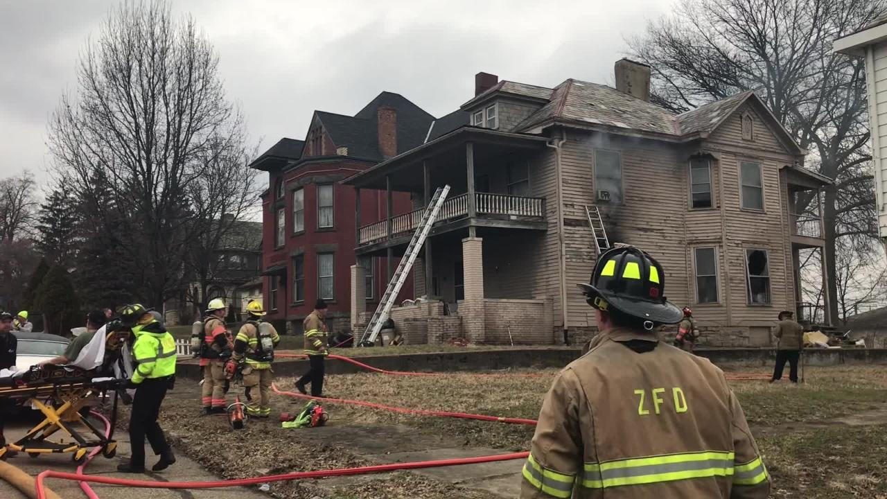 Maple Avenue House Fire