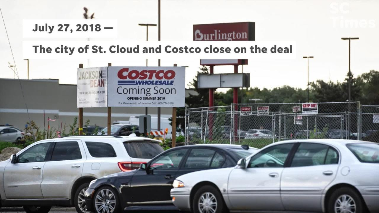 Costco Wholesale plans to open its St. Cloud warehouse in summer 2019.