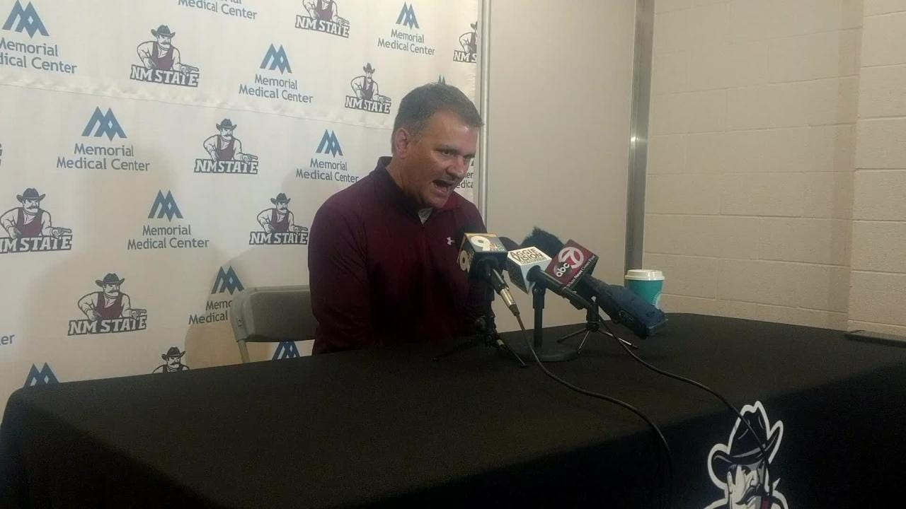 Head coach Chris Jans talks about upcoming games against Texas A&M International and Texas Rio Grande Valley.
