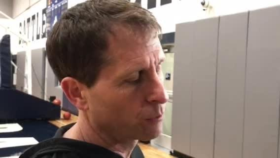 Nevada men's basketball coach Eric Musselman talks about the win over Wyoming at Monday's weekly press conference.
