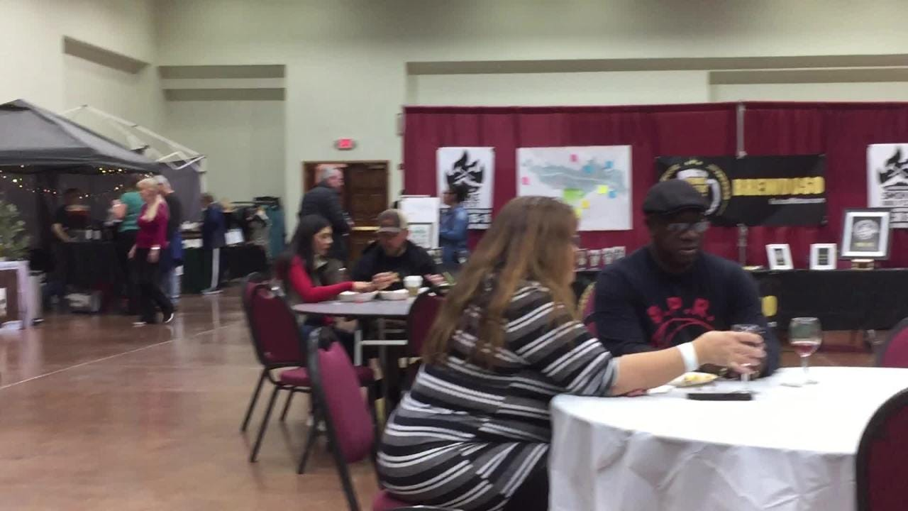 The 2019 Vines in the Pines at the Ruidoso Convention Center hosted by the Chamber of Commerce, had another successful year