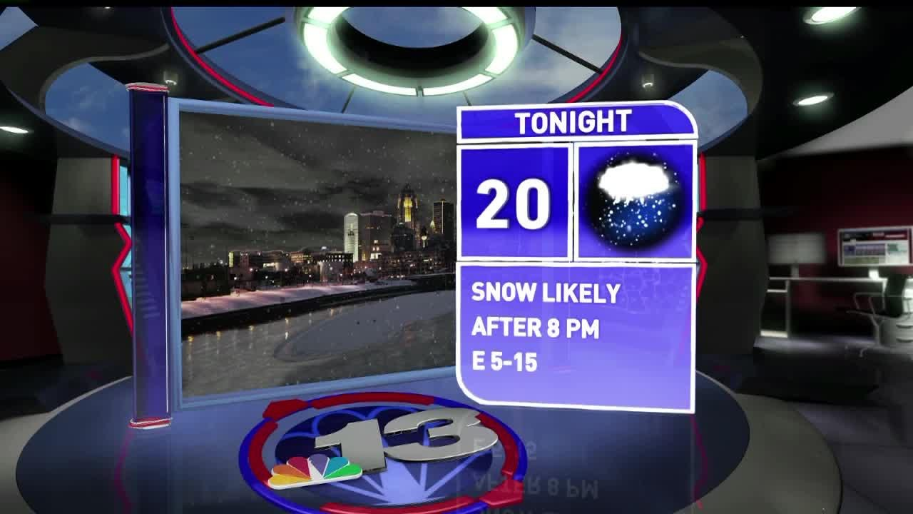 WHO-HD forecast: Heavy snow expected overnight into Wednesday