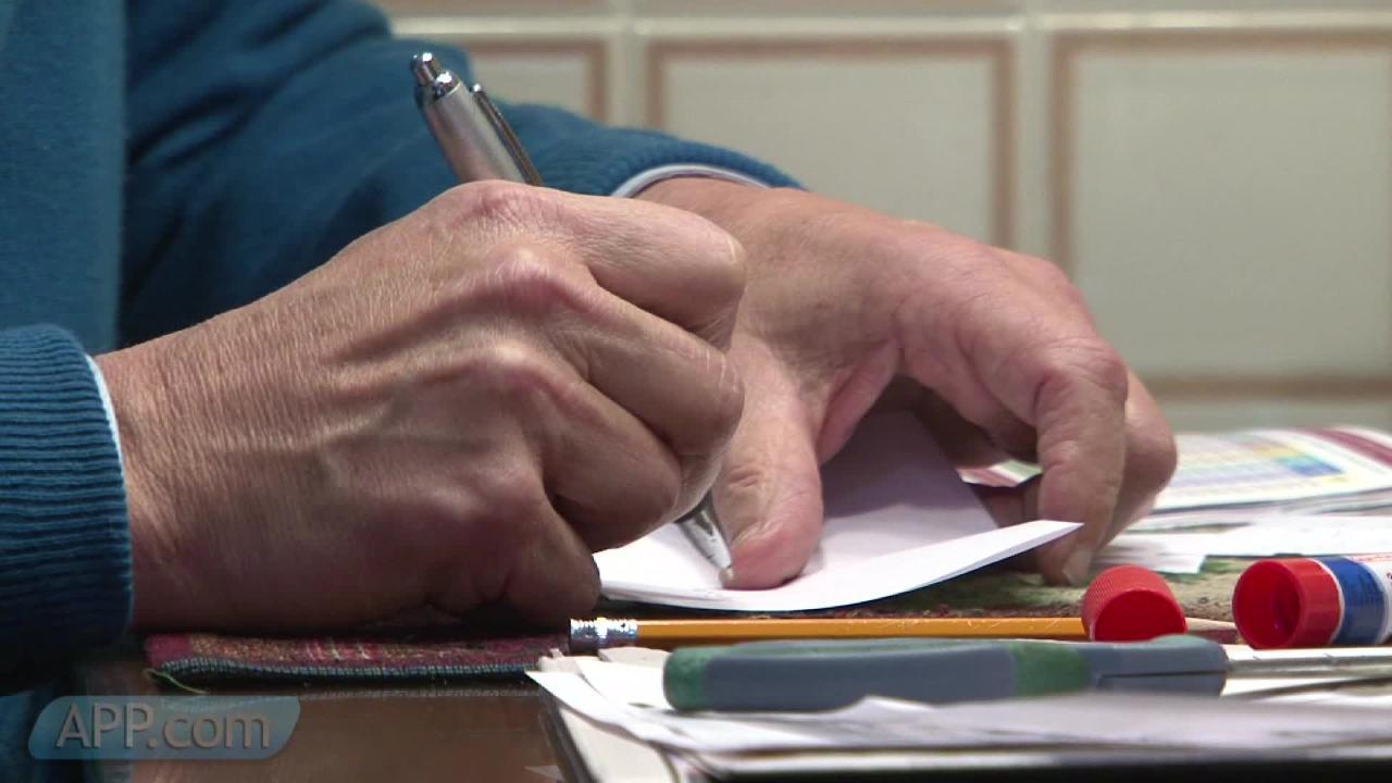 Toms River man writes 10k love letters