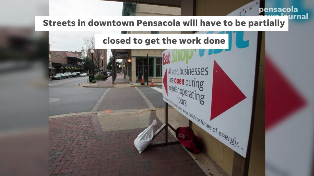 Gulf Power is spending $83 million to upgrade downtown Pensacola's power grid.