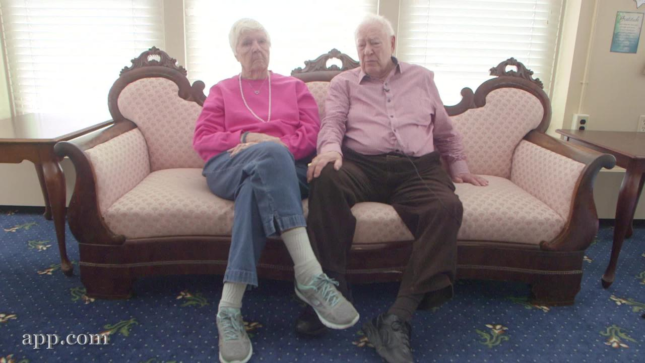 A couple meet and falls in love at an assisted living facility in Tinton Falls, NJ