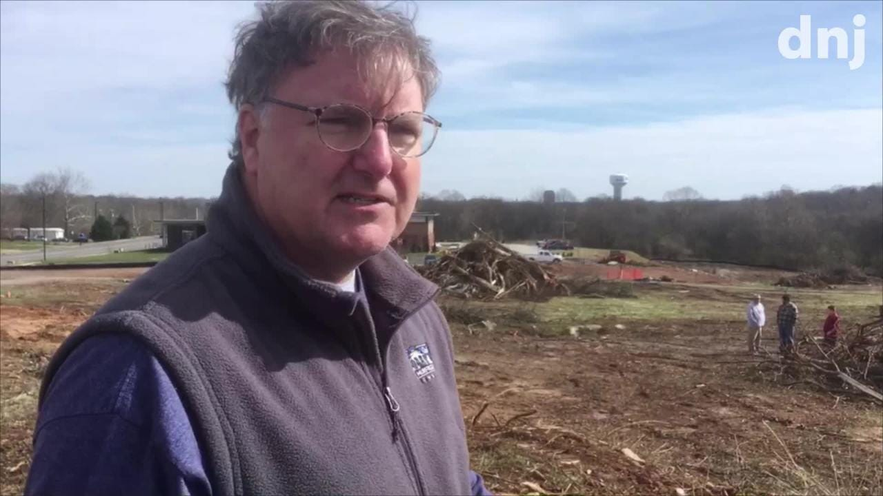 Murfreesboro City Councilman Eddie Smotherman talks about a part of Civil War-era Fortress Rosecrans disappearing for Gateway development.