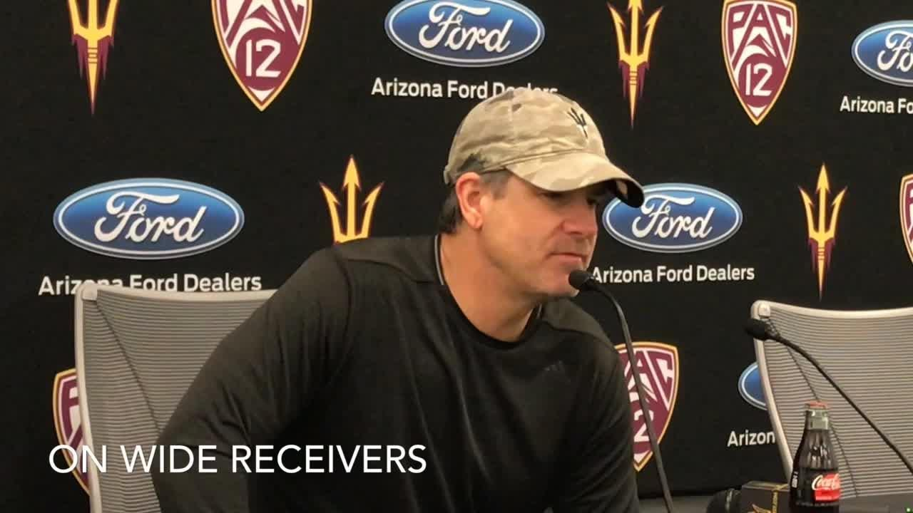 ASU offensive coordinator Rob Likens on QBs beginning to separate