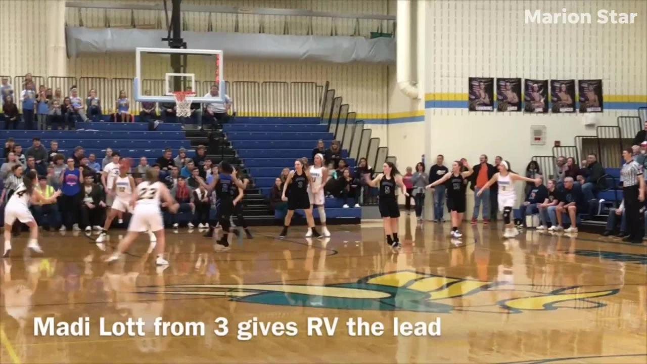 Bexley got three late free throws to beat River Valley 41-39 Tuesday night in a Division II sectional semifinal girls basketball game at RV.