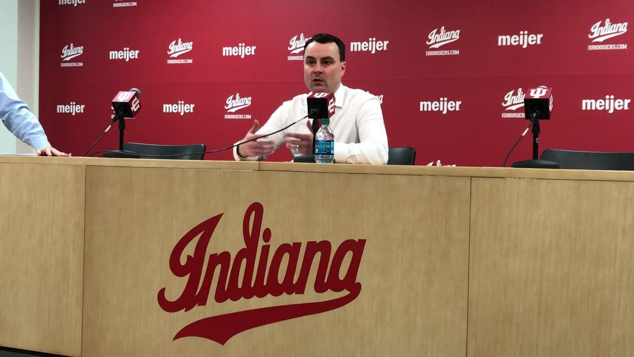 IU basketball coach Archie Miller discusses his team's 48-46 loss to Purdue