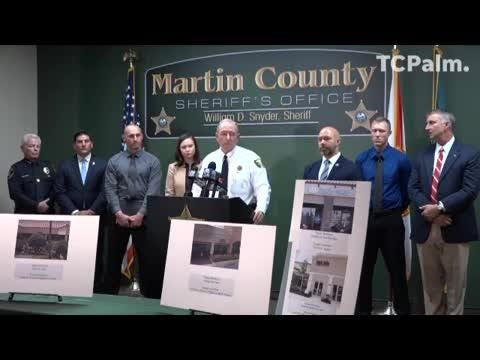 Martin County Sheriff's Office details local human trafficking ring