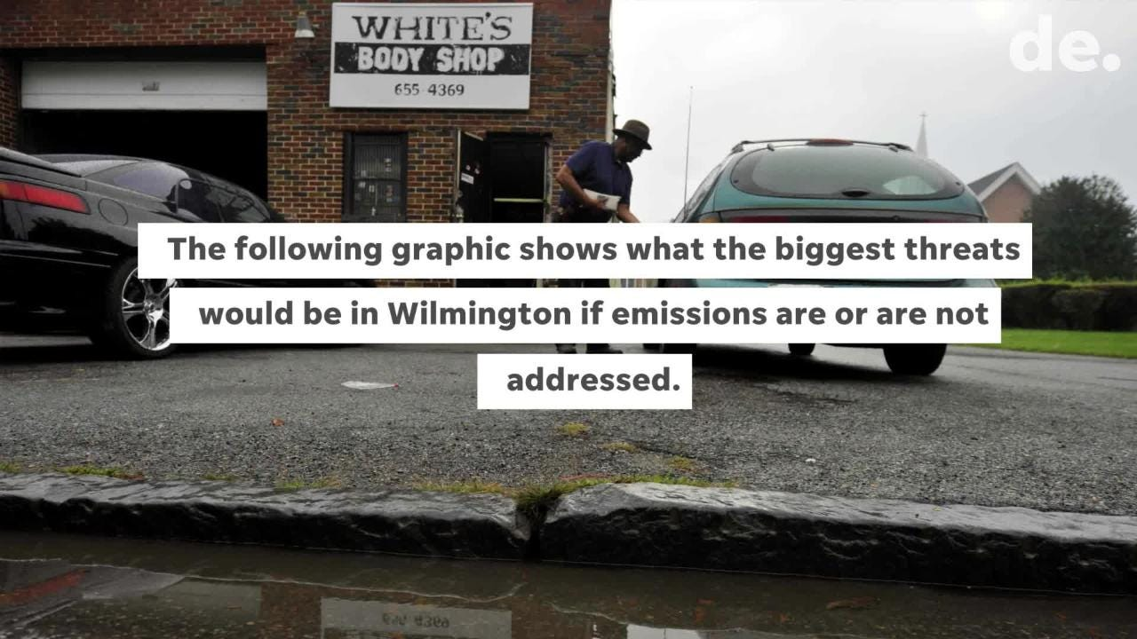A Green New Deal has been proposed to battle climate change, but what difference would it really make in flood-prone places like South Wilmington?