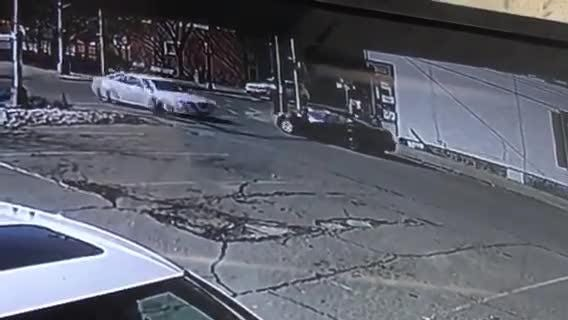 Hackettstown police released this video of a pedestrian hit-and-run (edited to end before impact). Police are trying to ID the suspect. Feb. 20, 2019