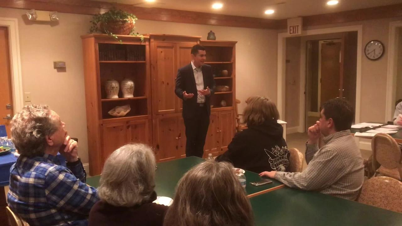 Phil Hernandez, a Democrat running for the House of Delegates District 100 seat, kicked off his campaign on the Eastern Shore of Virginia.