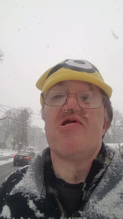 Brad Wadlow reports on the latest snow storm in North Plainfield.