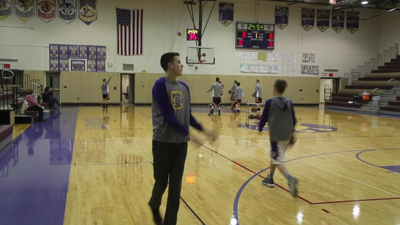 Zach Wiedrich can no longer play his favorite sport, but the Pavilion senior continues to have a passion for the game and his team.