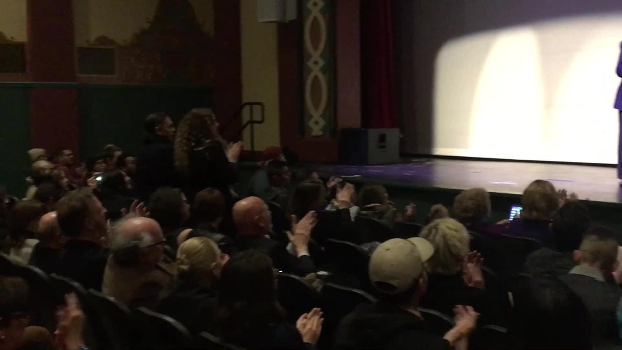 Award winning independent filmmaker Robert M. Young accepts the LCIFF Auteur Award at the 2019 Las Cruces International Film Festival.