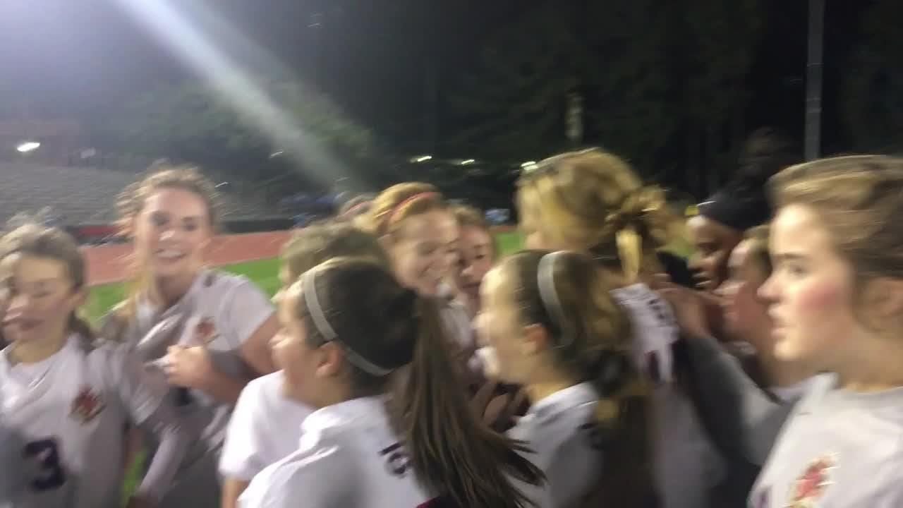 Teurling Catholic shut out Vandebilt Catholic 3-0 for its first championship since 2011.