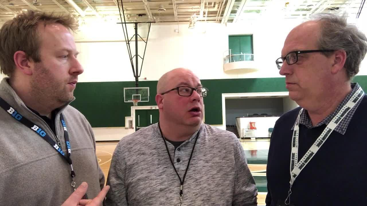 LSJ columnist Graham Couch, Freep beat writer Chris Solari and Freep columnist Shawn Windsor analyze MSU's chances against U-M