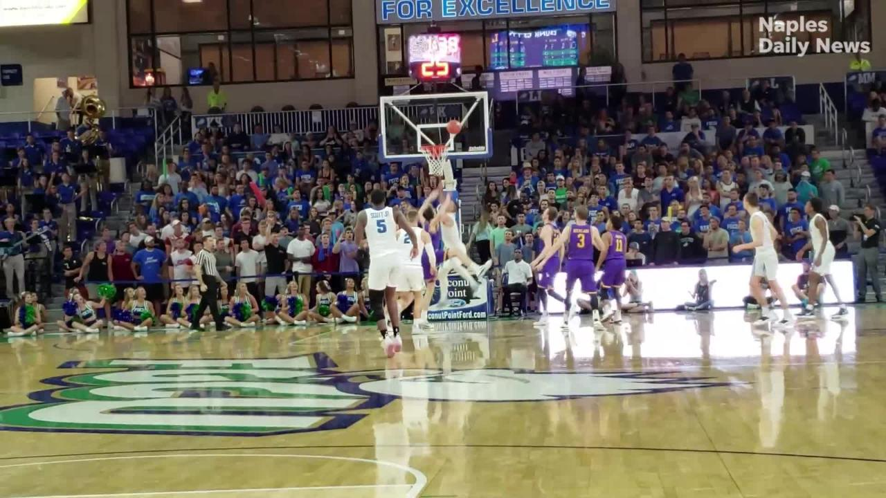 Just four days after a loss to the conference's last-place team, FGCU bounces back by trampling the Bisons.