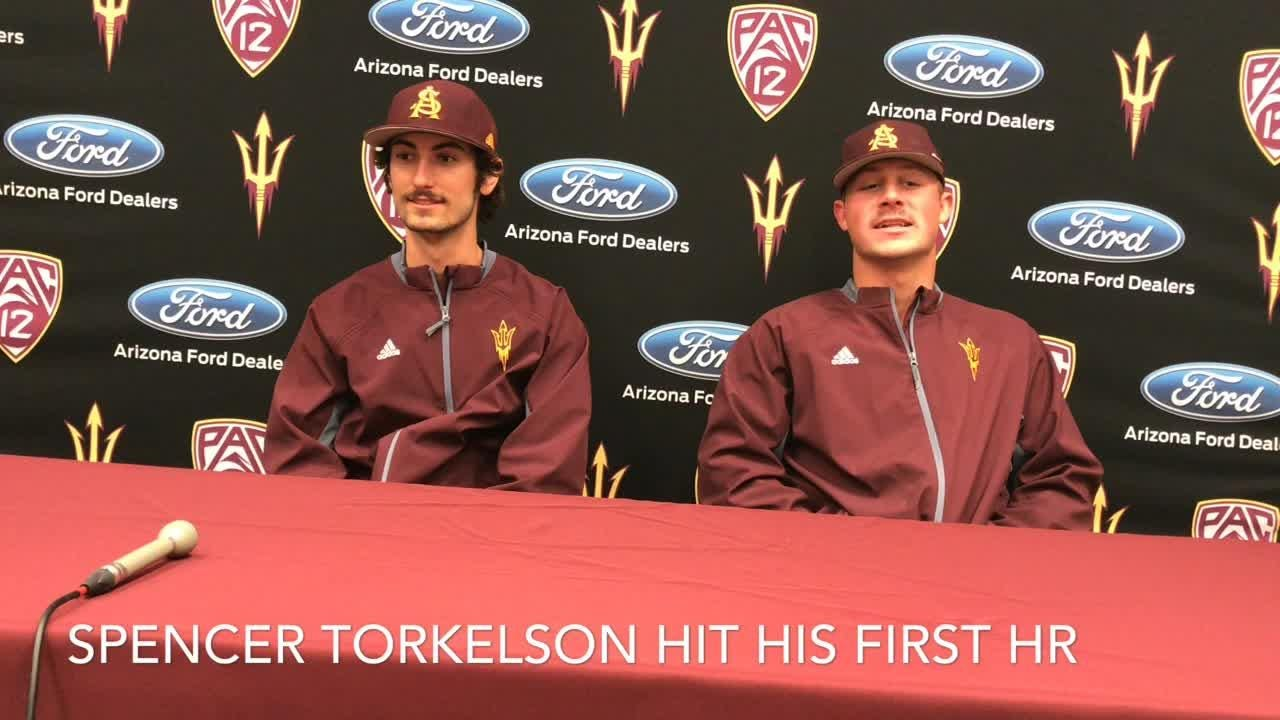 ASU baseball players Drew Swift, Spencer Torkelson on 4-0 start