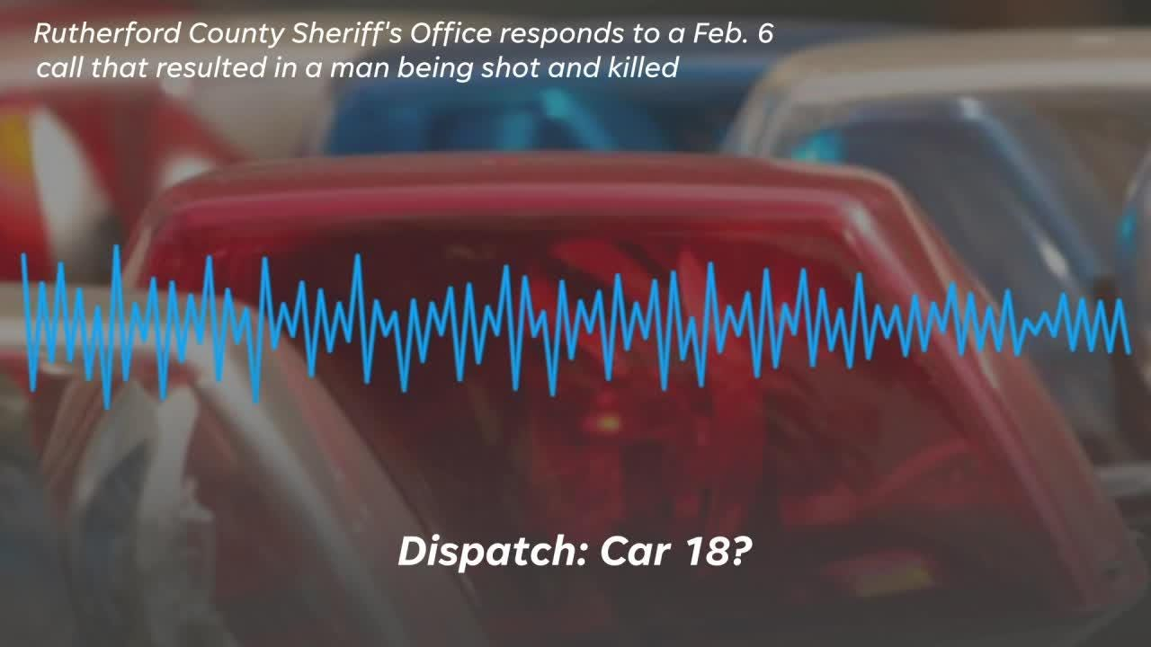 Hear the dispatch call from Walter Hill standoff