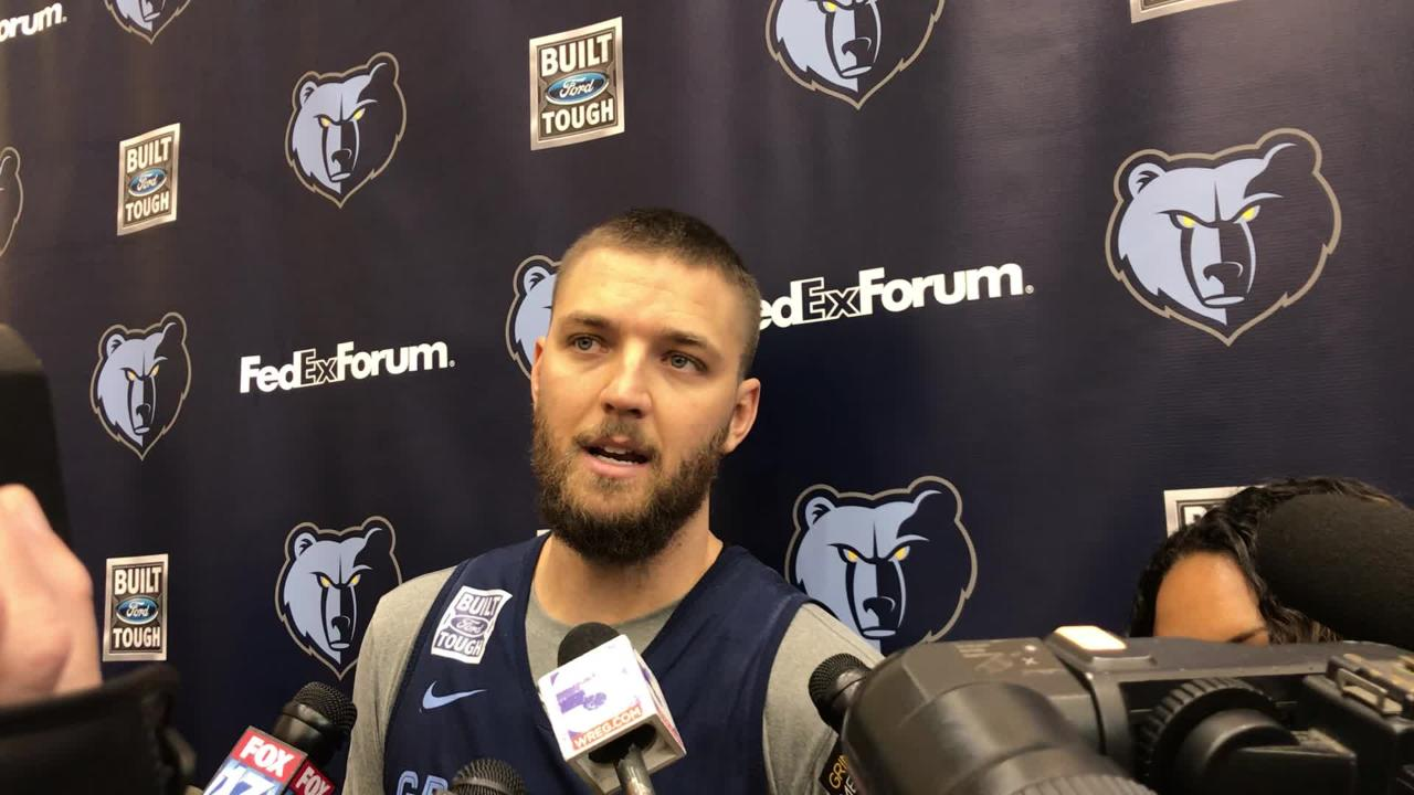 Grizzlies forward Chandler Parsons is rejoining the team after a lengthy exile. Here is what he had to say the day before returning to the lineup.