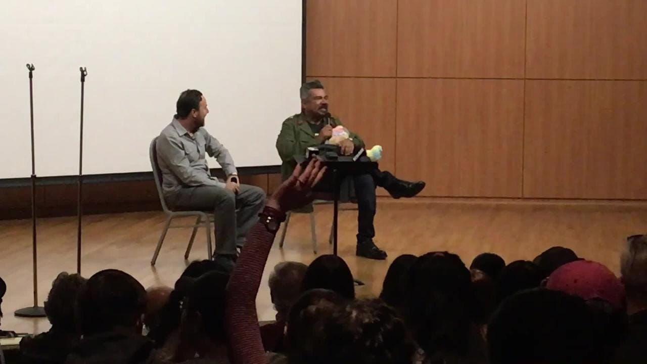 "Actor and comedian George Lopez talks about why ""The Adventures of Sharkboy and Lavagirl"" is a cult classic for his fans at the NMSU's Corbett Center."