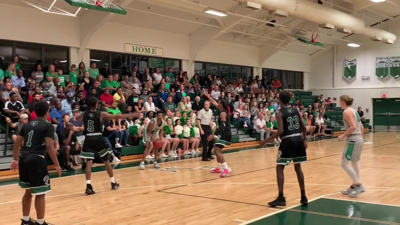 Javian McCollum finished with 16 points and Brady Luttrell and Josh Gergley added 14 appiece in Fort Myers' 59-41 win over Palmetto Ridge on Friday.