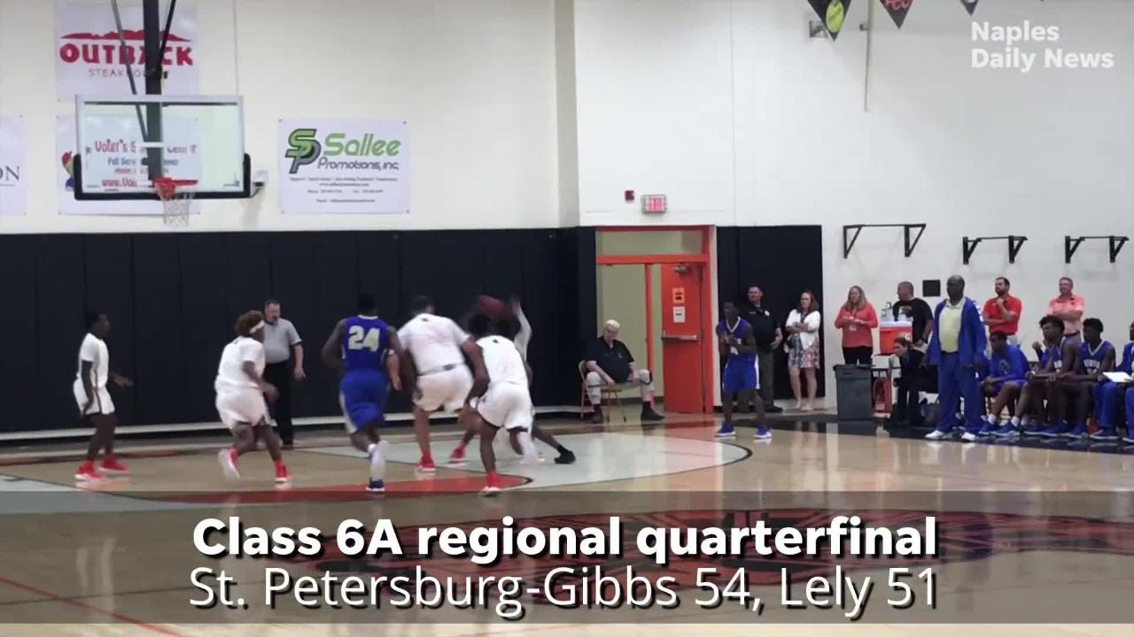 Lely battles back from 16-point third-quarter deficit but can't get the equalizer at the end, falling to St. Petersburg-Gibbs