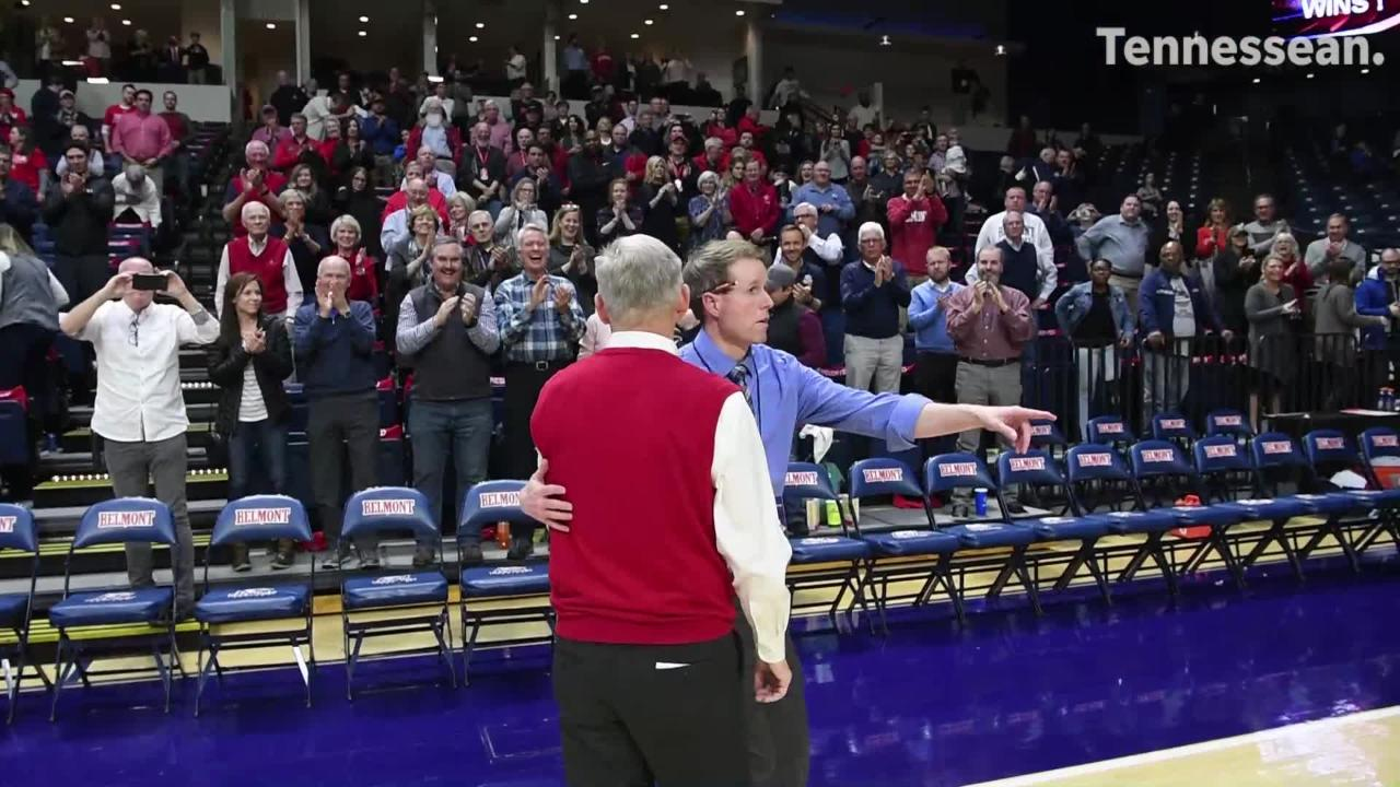 Belmont coach Rick Byrd got his 800th career victory as his team beat Eastern Illinois on Thursday.