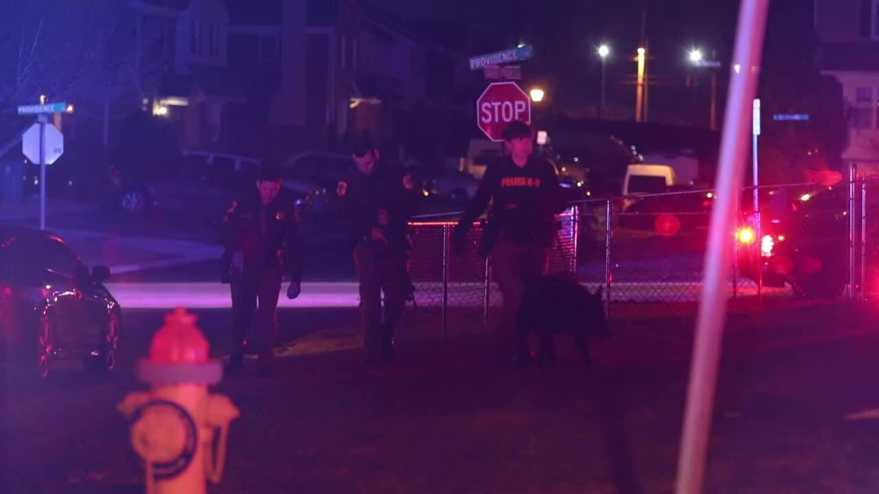 Police were looking for a suspect after a person was shot in Bear Thursday about 9:15 p.m.