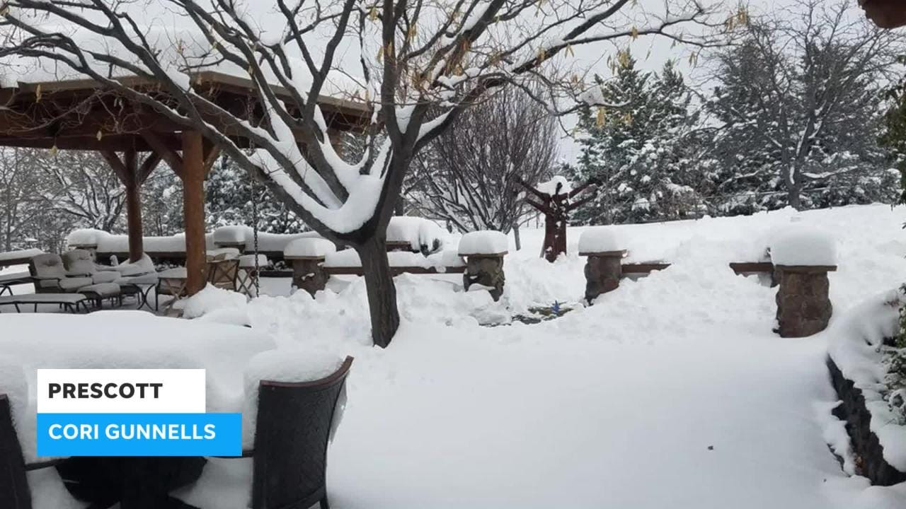 200dd7cbaa Snow in Flagstaff