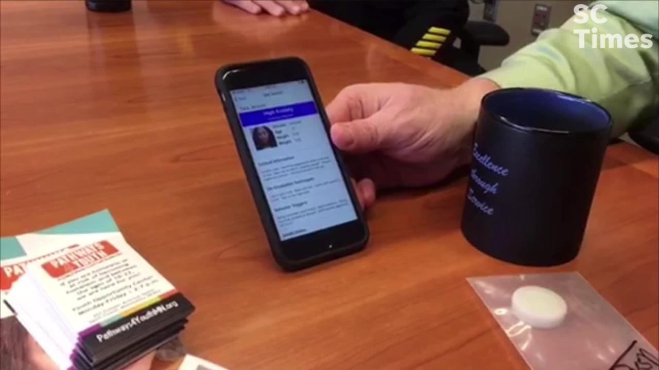 A new app will help police interact with people with conditions and disabilities.