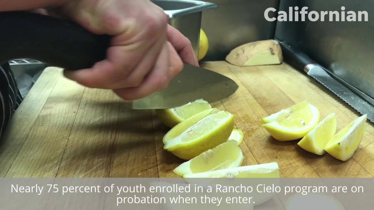 After attending Rancho Cielo's culinary program, at-risk youth feel ready to take on the world.
